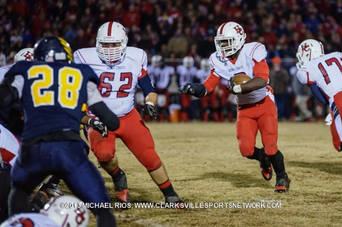 Henry County Patriots beat Northeast Eagles. (Michael Rios-Clarksville Sports Network)