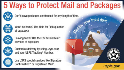 Five Ways To Protect Your Mail And Packages